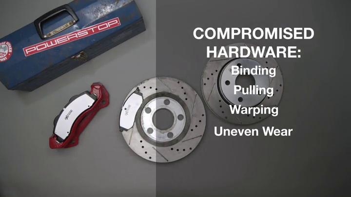 Power Stop SW-1654 Front Brake Pad Wear Sensor