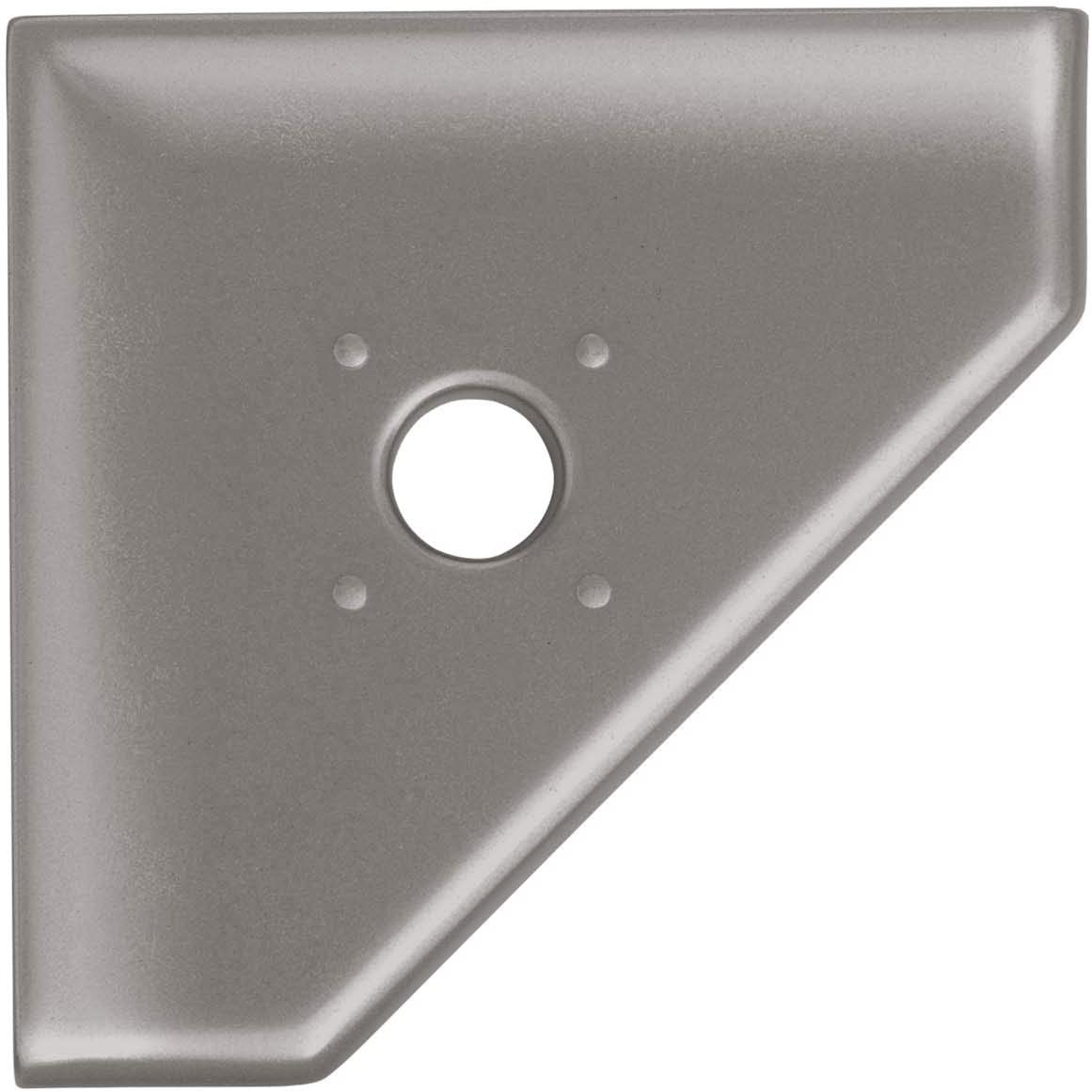 Miami Mall 5 inch Shower Caddy Sacramento Mall Soap Dish Cast Nickel - Corner Brushed Metal