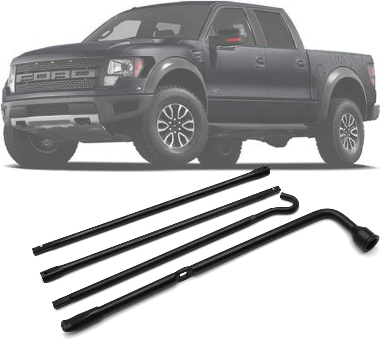 HTTMT- Vehicle F-150 04-14 Spare Tire Tool Lug Wrench Extension