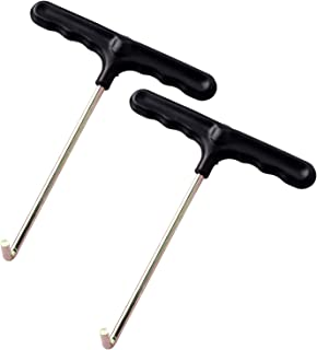 Eurmax Trampoline Spring Pull Tool Kit Trampoline Parts Easy Pull Tool 2 Pack (T-Hook)