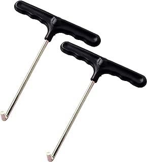 Eurmax Trampoline Spring Pull Tool Kit Trampoline Parts Easy Pull Tool 2 Pack (T-Hook)