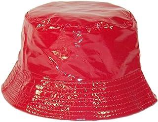 e125d8d19b0f9 Chapeau-tendance - Bob de Pluie Rouge Vernis - - Femme