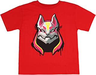 9b289d9970 Fortnite Shirts Drift 1 Skin Graphic for Boys Red Cotton Video Game Fan Tee  SM