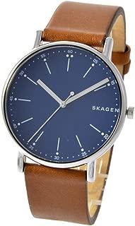 [スカーゲン]SKAGEN 腕時計 SKW6355 SIGNATUR シグネチャー 革ベルト ネイビー×ブラウン メンズ 時計 [並行輸入品]