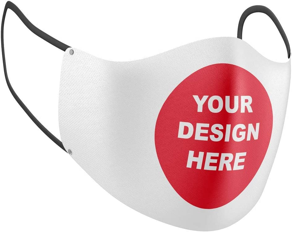 Face Mask with Design Add Your service Image Cloth Reusable Own Custom Dealing full price reduction M