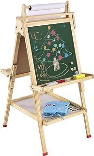 تابلو نقاشی USELUCK برای کودکان و نوجوانان دارای صفحه رول کاغذی صفحه تابلو پاک کن خشک