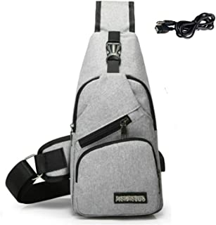 : sac holster homme Gris : Bagages