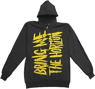 Bring Me The Horizon Men's BMTH Logo Zippered Hooded Sweatshirt Black
