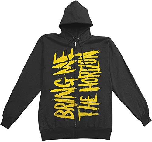 Bbague Me The Horizon - BMTH Logo Zip sweat à capuche à capuche In noir