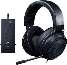 Razer Kraken نسخه مسابقات: THX Spatial Audio - کنترل کامل صوتی - کولرهای خورشیدی Infused ear cushions-Black (بازسازی)