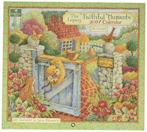 Legacy Publishing Group WCA27858 2017 Wall Calendar, Faithful Moments