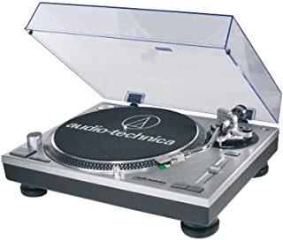 Audio-Technica ATLP120USB Direct Drive Professional USB Turntable - (Silver)