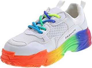 Zapatillas de Deporte para Mujer, Zapatilla de Deporte Mujer Zapatos para Mujer Cuña Cómodos Mocasines Plataforma Zapatill...