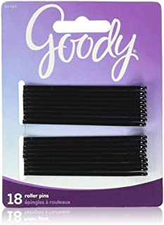Goody Black Roller Pins, 3 inches 18 ea