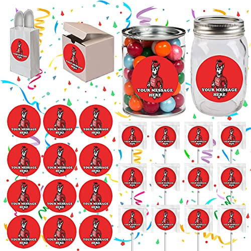 NC State Wolfpack Party Favors Supplies Decorations Stickers 12 Pcs