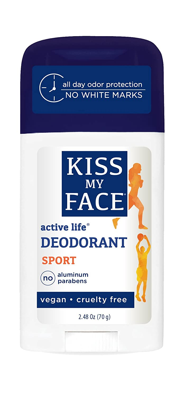 Kiss Fort Bombing free shipping Worth Mall My Face Active Life Natural Sport oz 2.48 Stick Deodorant