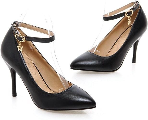 QIN&X Stiletto Femmes Hauts Talons Chaussures Chaussures Bouche Peu Profonde