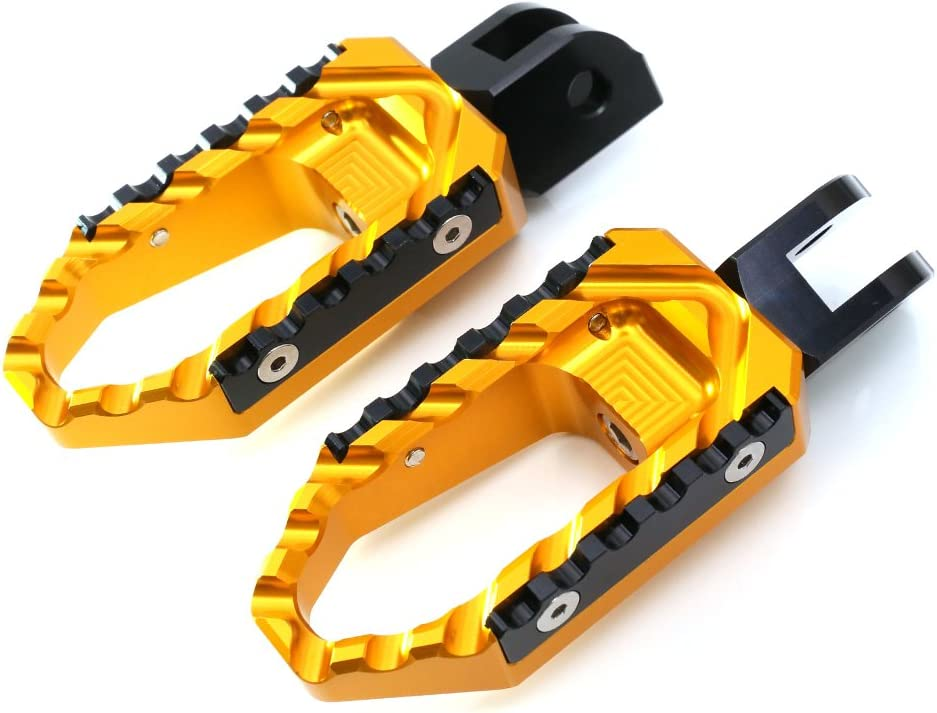 MC MOTOPARTS Gold CNC Adjustable Pegs Outstanding Finally resale start Front Touring Compati Foot