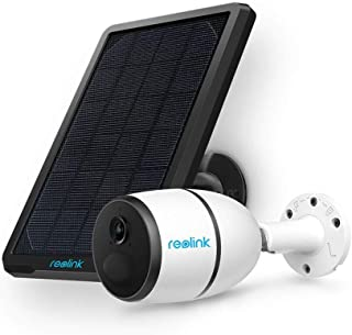 Reolink Cámara de Seguridad con Batería sin Cables para Exteriores 3G / 4G LTE con Panel Solar Visión Nocturna HD 1080P Alimentación Solar Audio Bidireccional Sensor de Movimiento PIR Go
