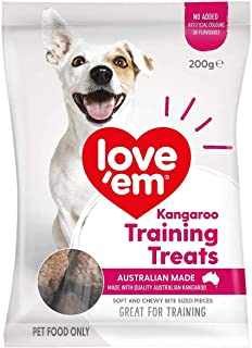 Love Em Dog Food Kangaroo Training Mini Treats 200g