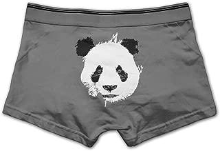 Men Hot Desiigner Panda Logo Boxer Briefs