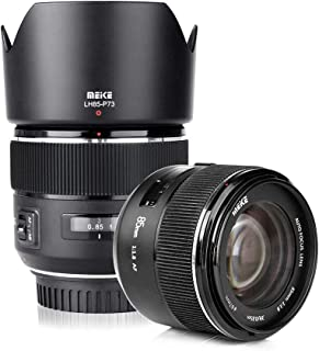 Meike 85mm f1.8 Large Aperture Full Frame Auto Focus Telephoto Lens for Canon EOS EF Mount Digital SLR Camera Compatible w...