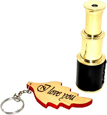 Hello Nauticals Store Handheld Brass Telescope Pirate Navigation