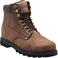 """EVER BOOTS """"Tank"""" Men's Soft Toe Oil Full Grain Leather Insulated Work Boots Construction Rubber..."""