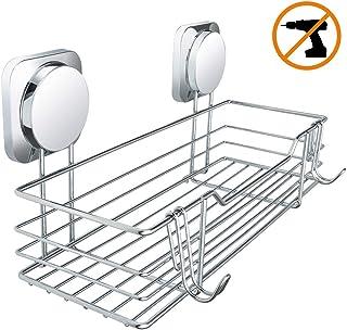 Cromado MSV Estante DE Rincon 2 Niveles DE Aluminio Y Vidrio TABARCA 25x25x5 cm