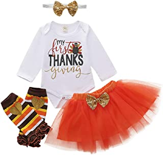 Best baby girl turkey outfit Reviews