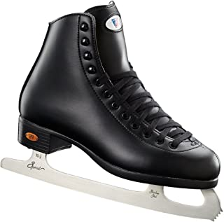 Riedell Skates - 110 Opal - Recreational Ice Skates with Stainless Steel Spiral Blade