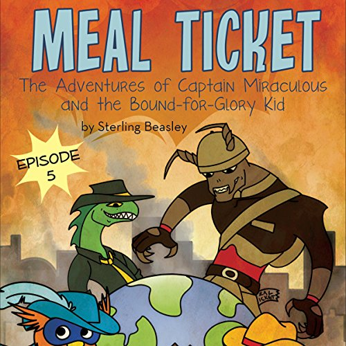 Meal Ticket audiobook cover art