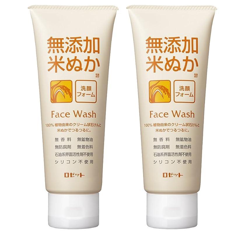 適切に症候群指定するロゼット 無添加米ぬか 洗顔フォーム 140g×2個パック AZ