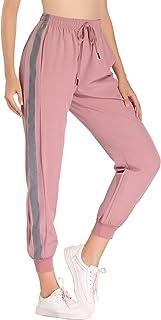 Pantalones Deportivos para Mujer Largos Secado Rápido Pantalón de Chándal Gimnasio Deportes Correr Entrenamiento Jogging