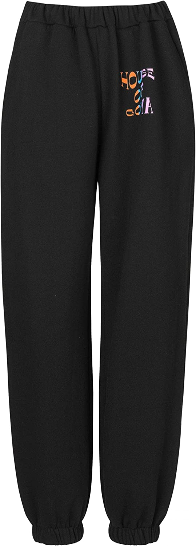 Stine Goya Mujeres Pantalones de chándal de algodón orgánico zaza Black