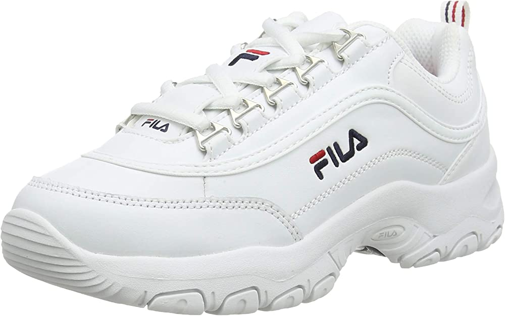 Fila strada, scarpe da ginnastica unisex-bambini,sneakers,in pelle 1010781