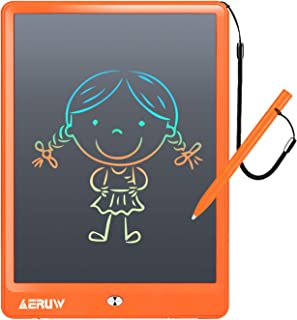 LCD Writing Tablet Colorful 10 Inch Electronic Graphics Doodle Board eWriter Drawing Pad with Memory Lock Gift for Kids & Adults Home School Office Handwriting Tablet