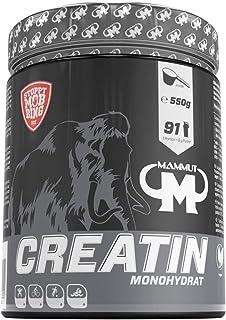 Mammut Nutrition – Creatin Monohydrat, magnesiumoptimiert, 550 g Dose