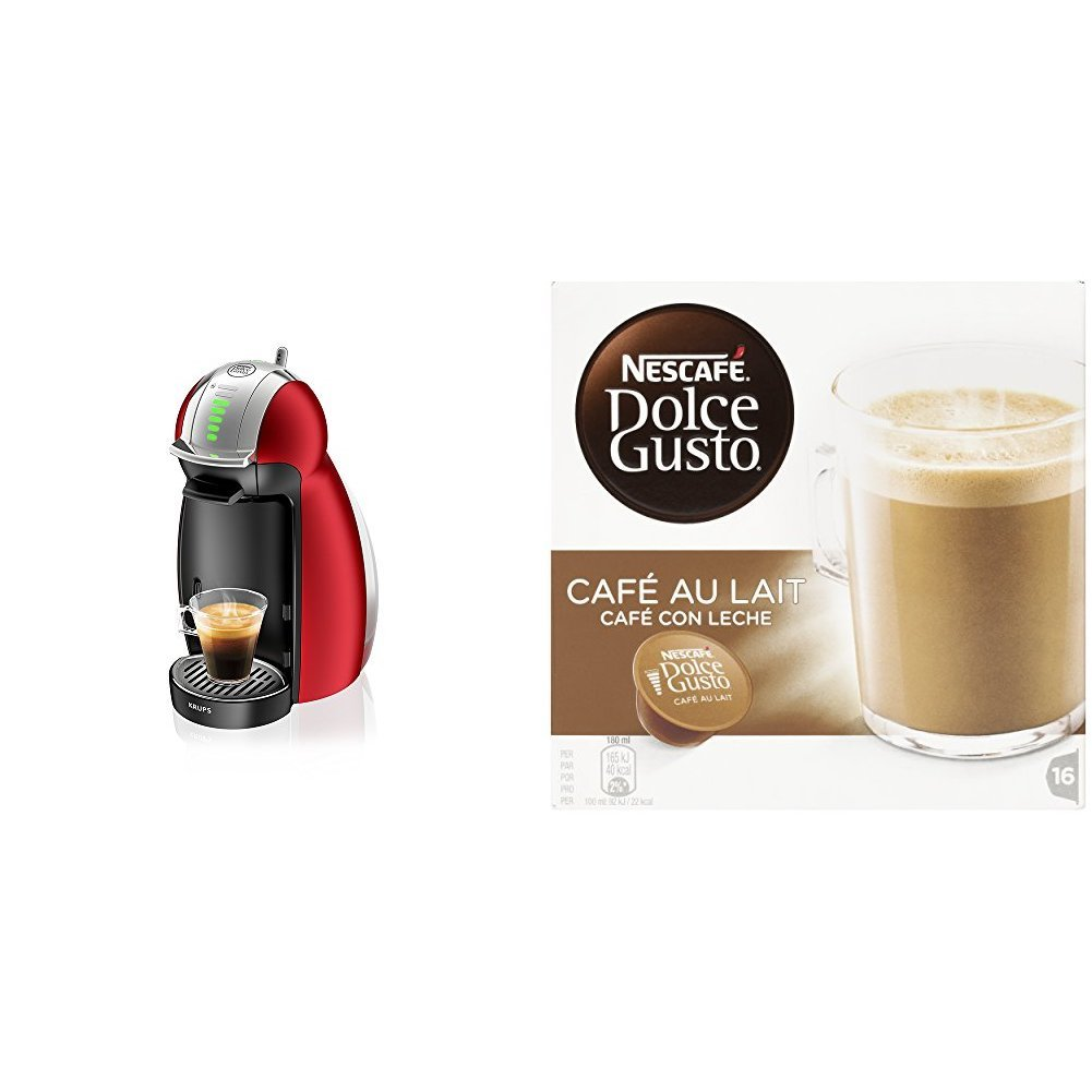 Pack Krups Dolce Gusto Genio 2 KP1605 - Cafetera de cápsulas, 15 ...
