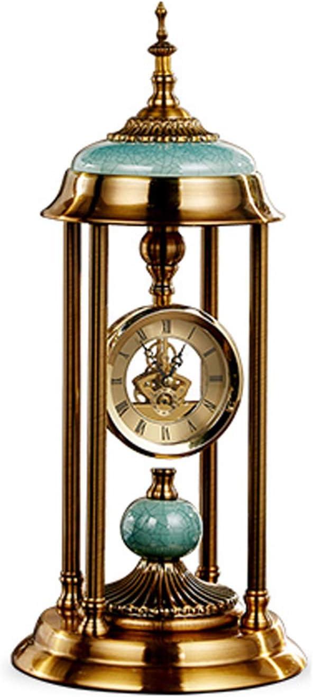 OMIDM Table Clock Roman Numeral Home Spasm Brand new price Luxury De Light