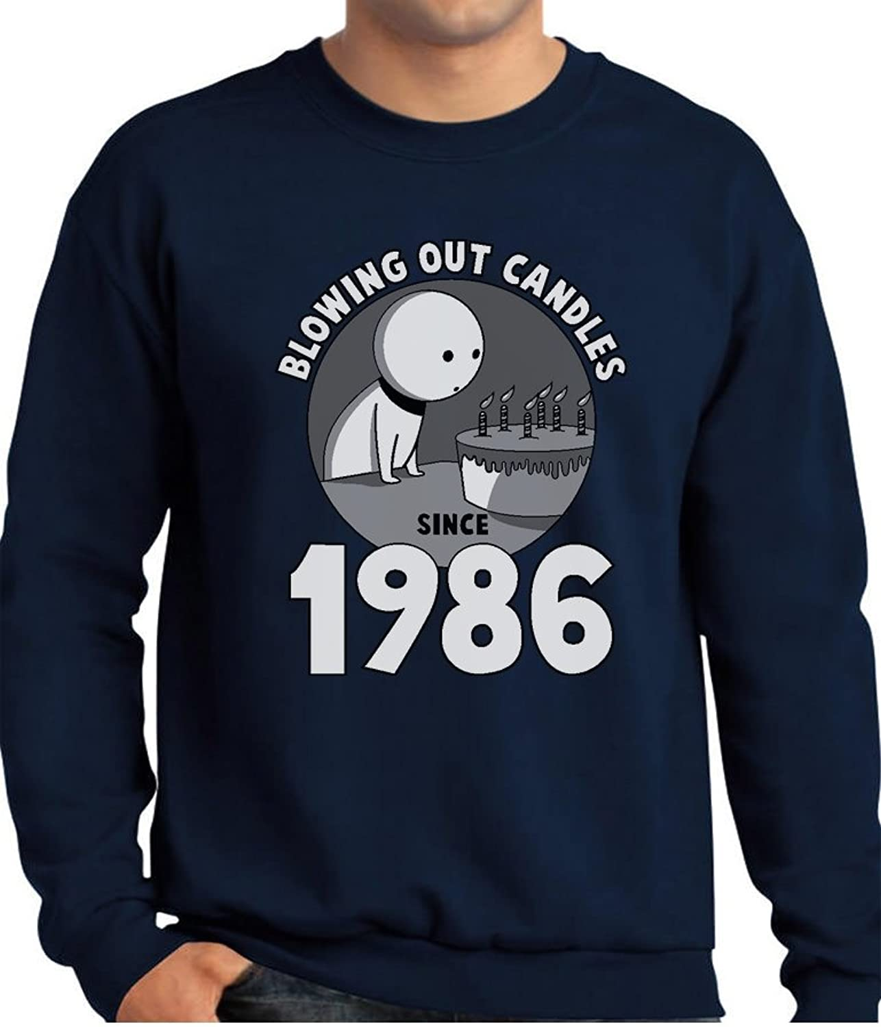 - TeeStars - 30th Birthday Gift Gift Gift Idea Blowing Out Candles Since 1986 Sweatshirt 9d1ae5