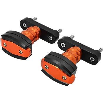 CICMOD 2x Fourche roue Frame Slider Crash Protector pour KTM 125 200 390 Duke K-Arri/ère