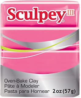Sculpey III Polymer Clay 2 Ounces-Candy Pink