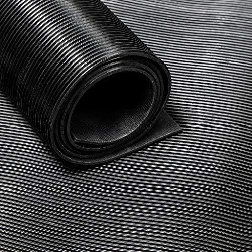 Vivol Tapis caoutchouc strié - Largeur 180cm