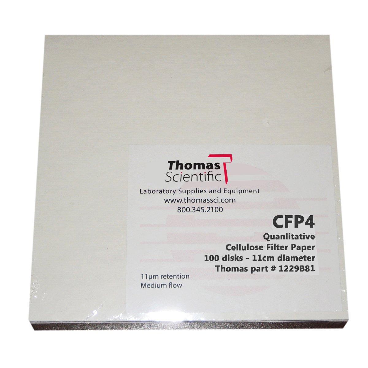 Thomas CFP4-150 Cellulose Qualitative Selling rankings 20-26 Paper Washington Mall Micron Filter