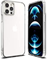 Case Cover for iPhone 13 Pro Max 6.7-Inch, Slim Shockproof Bumper Cover Anti-Scratch Crystal Clear Case for iPhone 13...