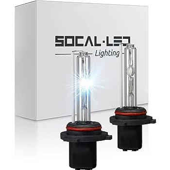 O-NEX 2x XENON 9007 HB5 9004 HID Bulbs AC 35W Headlight Replacement High Bright 6000K Crystal White