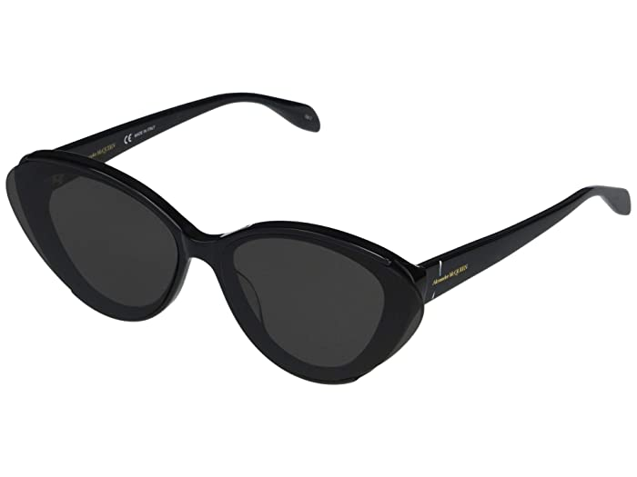 Alexander McQueen  AM0249S (Black) Fashion Sunglasses