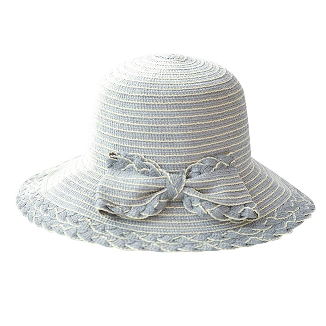 パスタこのリム夏 帽子 レディース UVカット 帽子 ハット レディース 日よけ 夏季 女優帽 日よけ 日焼け 折りたたみ 持ち運び つば広 吸汗通気 ハット レディース 紫外線対策 小顔効果 ワイヤー入る ハット ROSE ROMAN