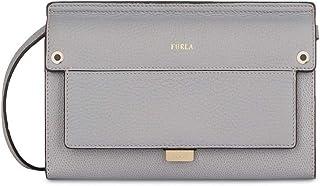 Furla Like Ladies Mini Gray Onice Leather Crossbody 978262